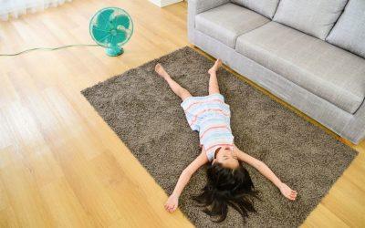 5 ways to help kids sleep in the summer heat