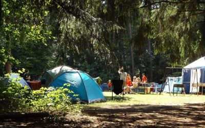 Camping and sleep… say what?! Nine ways to get great sleep while camping with the family this summer